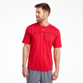 saucony Drafty Shortsleeve Shirt Men saucony red